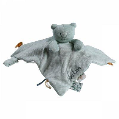 Doudou coton bio nouky mint Noukies