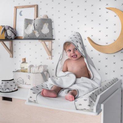 Sortie de bain bébé timeless Noukies