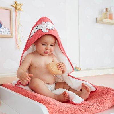 Sortie de bain bébé amy et zoé Noukies