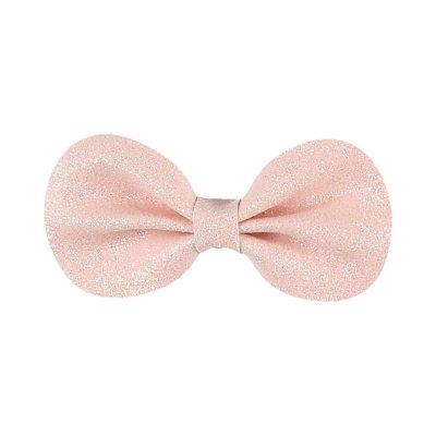 Accessoire pour cheveux pince gros noeud rose Noukies