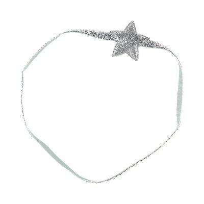 Accessoire pour cheveux headband etoiles argent Noukies