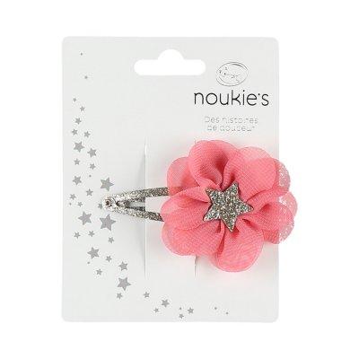 Accessoire pour cheveux pince fleur boudoir Noukies