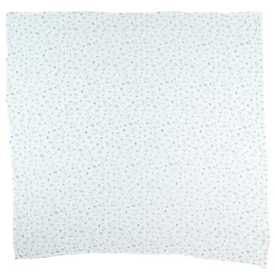 Lot de 2 langes mousseline bio 100x100cm Noukies