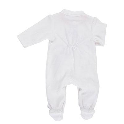 Pyjama dors bien velours blanc smart girl Noukies