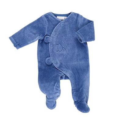 Pyjama dors bien velours océan mix and match Noukies