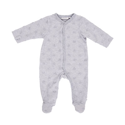 Pyjama dors bien jerey gris mix and match Noukies