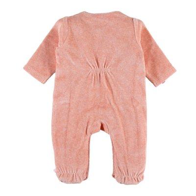 Pyjama dors bien velours minoushka rose Noukies