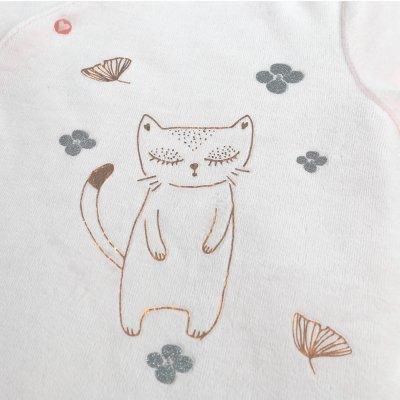Pyjama dors bien velours smart girl rose clair Noukies