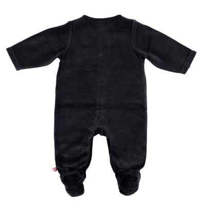 Pyjama dors bien velours mix and match cachou Noukies