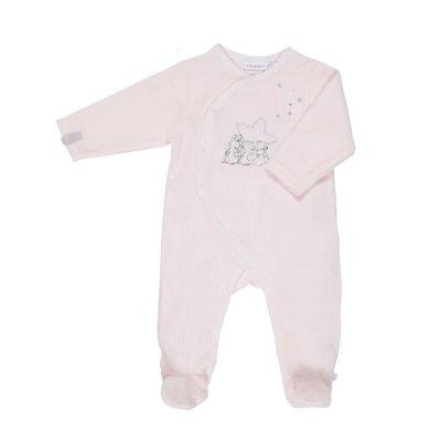 Pyjama dors bien poudre d'étoiles rose Noukies