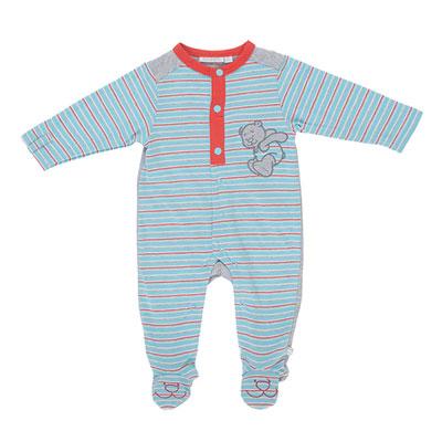Pyjama bébé jersey peps boy rayé Noukies