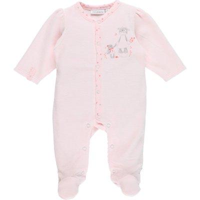 Pyjama dors bien velours smart girl rose Noukies