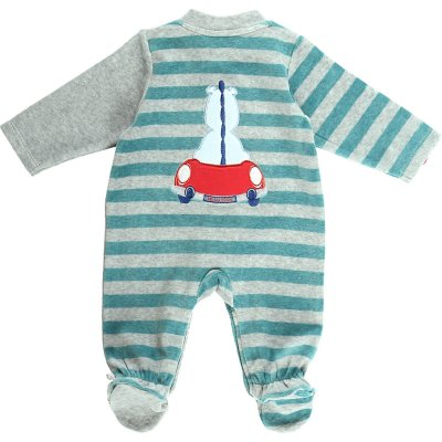 Pyjama dors bien velours peps boy bicolor Noukies