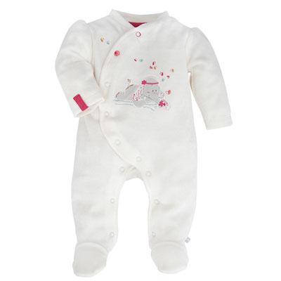 Pyjama blanc anna et pili Noukies