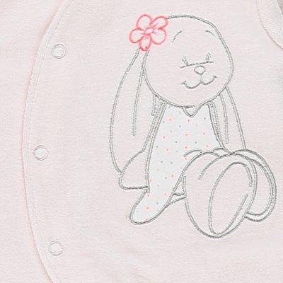 Pyjama dors bien velours graphic girl rose Noukies