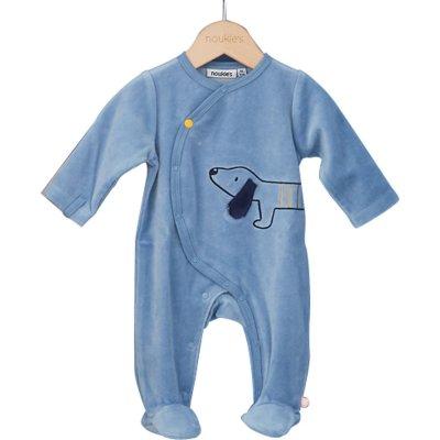 Pyjama velours aston et jack Noukies