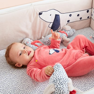 Pyjama velours amy et zoé Noukies