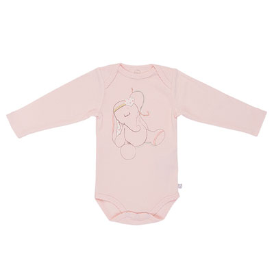 Body rose graphique girl Noukies