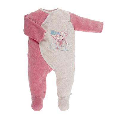 Pyjama dors bien velours bicolore peps girl Noukies
