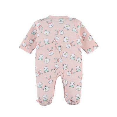 Pyjama dors bien velours mix nd match aqua Noukies