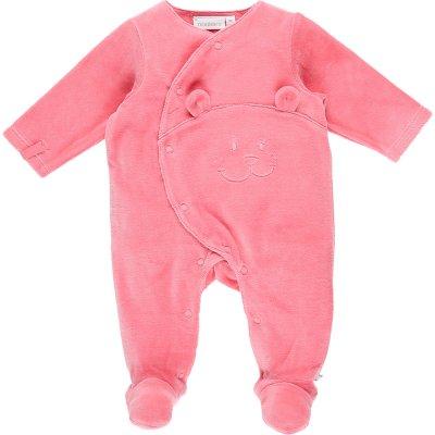 Pyjama dors bien velours mix and match macaron Noukies