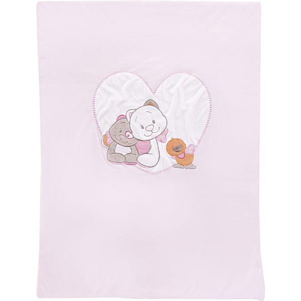 Couverture bébé jersey 75 x 100 cm iris et babette Noukies