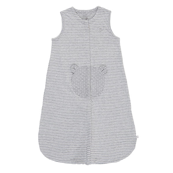 Gigoteuse en jersey 70 cm gris clair Noukies