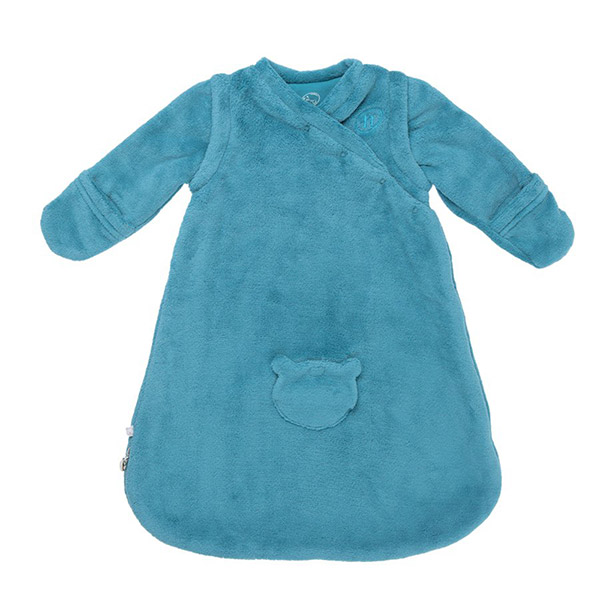 Gigoteuse groloudoux 50 cm turquoise Noukies