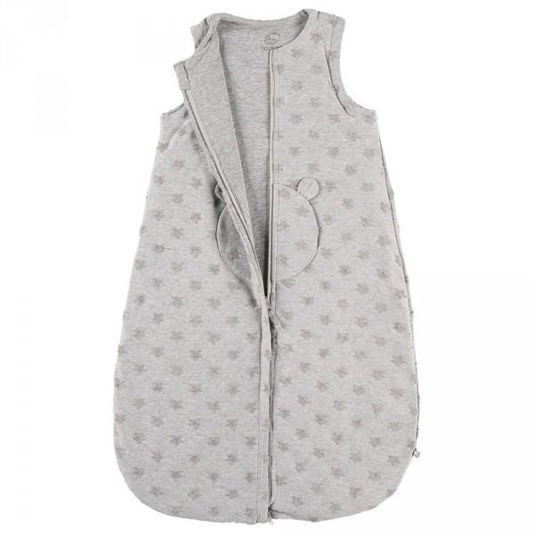 Gigoteuse 70 cm jersey gris clair Noukies