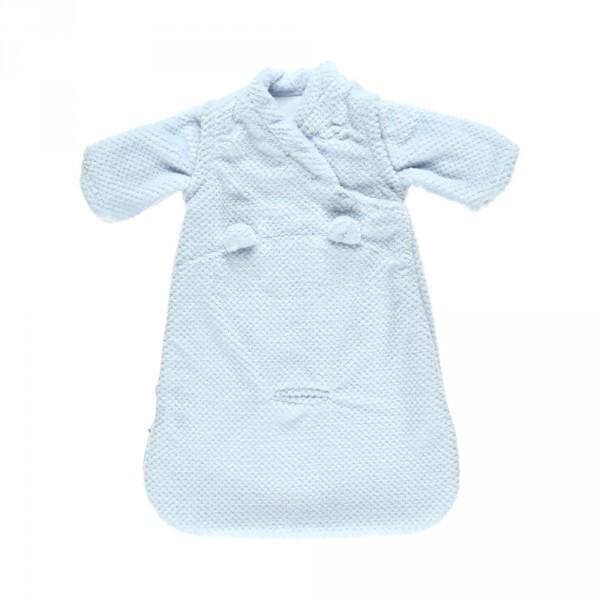 Gigoteuse groloudoux 50 cm bleu cocon Noukies