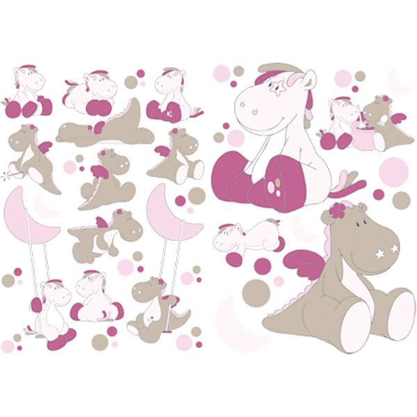 Stickers décoratifs victoria et lucie Noukies