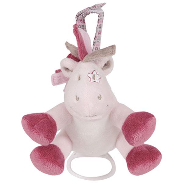 Doudou vache mini musical lucie 15 cm Noukies