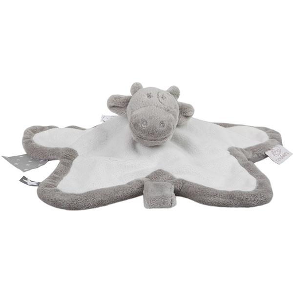 Doudou tidou lola poudre d'etoile gris/blanc Noukies