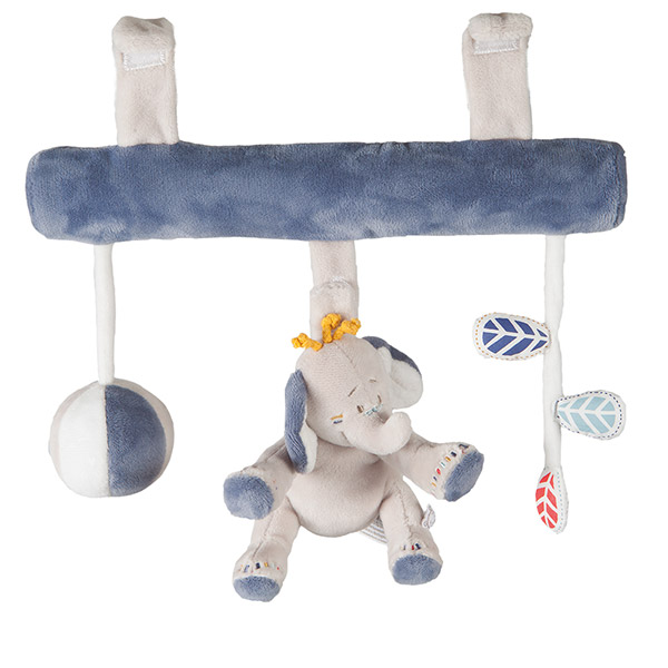 Jouet de voyage bébé boulier bao et wapi Noukies