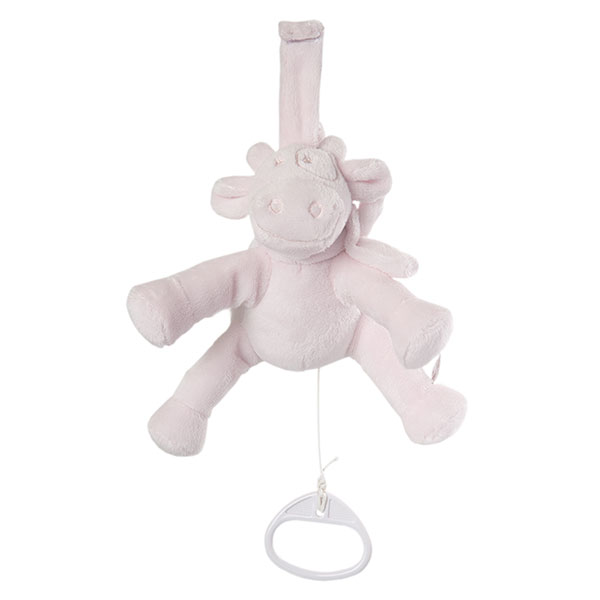 Peluche bébé mini musical lola rose cocon Noukies