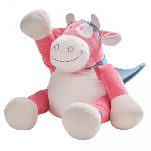Peluche bébé lola super-héros large Noukies