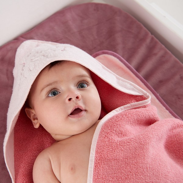 Sortie de bain bébé candy mia et victoria Noukies