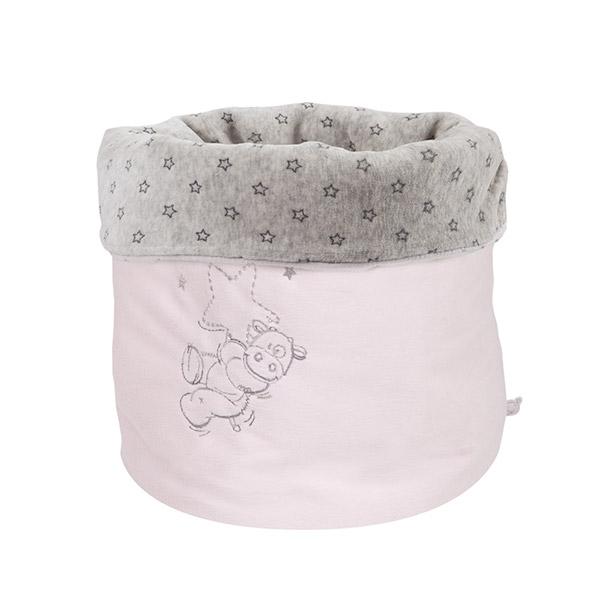 Beauty case poudre d'étoiles rose Noukies