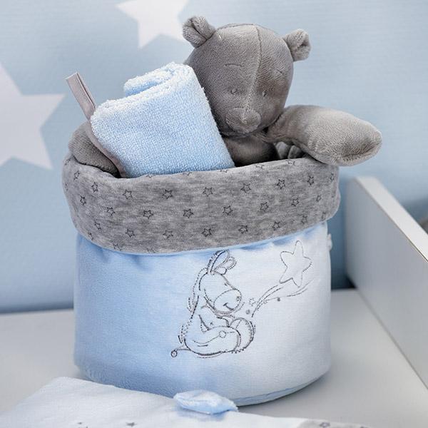 Beauty case poudre d'étoiles bleu Noukies