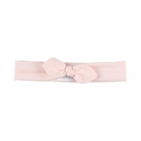 Accessoire pour cheveux bandeau pois rose Noukies