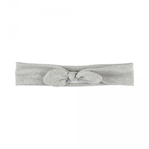 Accessoire pour cheveux bandeau pois gris Noukies