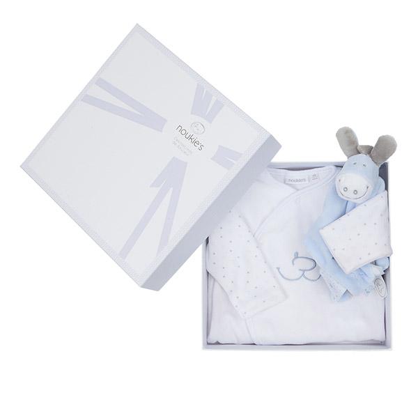 Coffret naissance pyjama paco et son doudou tidou Noukies