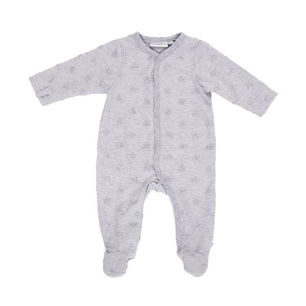 Pyjama dors bien jerey gris mix and match Noukies
