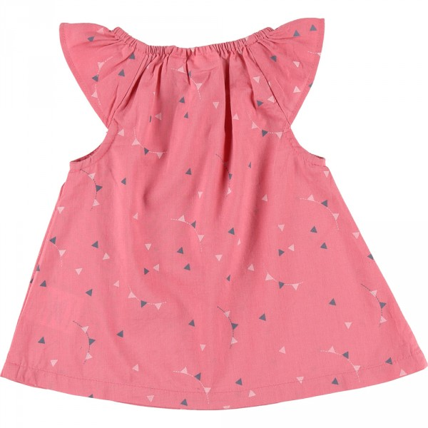Robe bébé + bloomer cocon orchidée Noukies