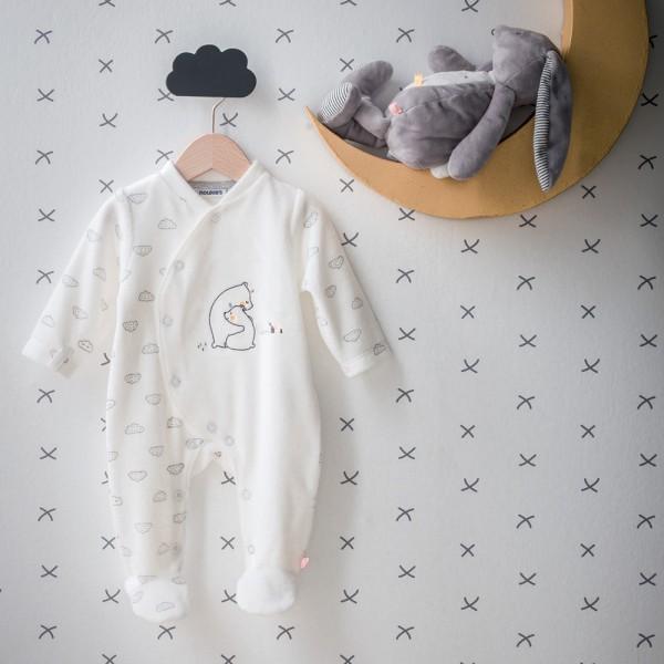 Pyjama velours timeless Noukies