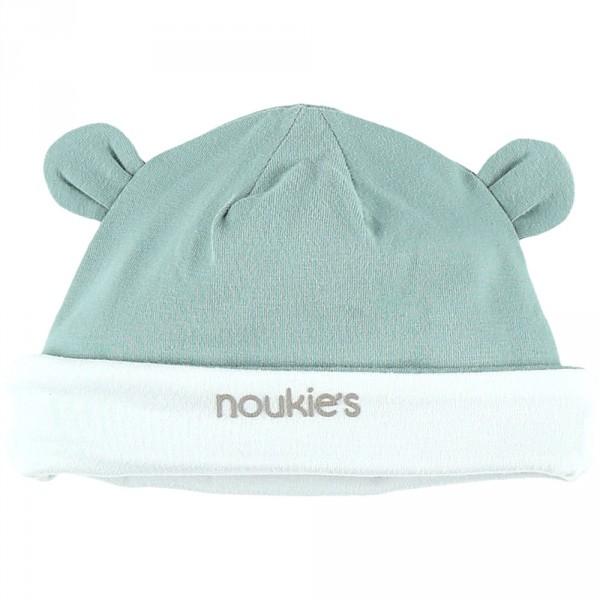 Bonnet oreilles cocon aqua Noukies