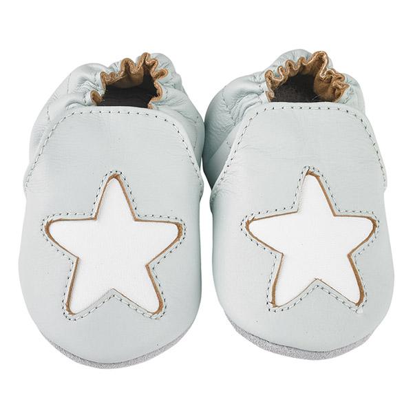 Chaussons bébé en cuir étoile cocon cielExiste en plusieurs tailles 9ac46febb46