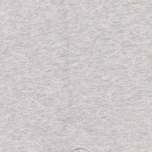 Combi bébé terry cocon gris chiné Noukies