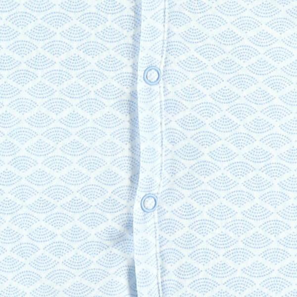Pyjama dors bien jersey cocon bleu Noukies