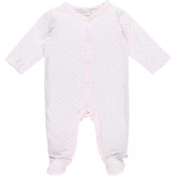 Pyjama dors bien jersey cocon rose Noukies